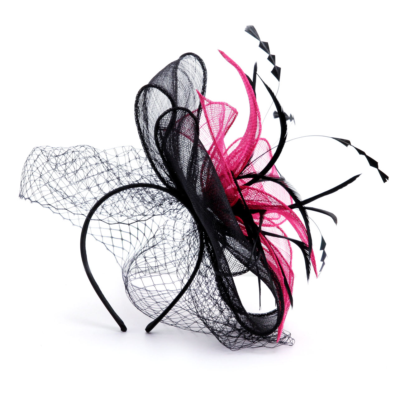 Black And White Fascinator Shoes Accessories